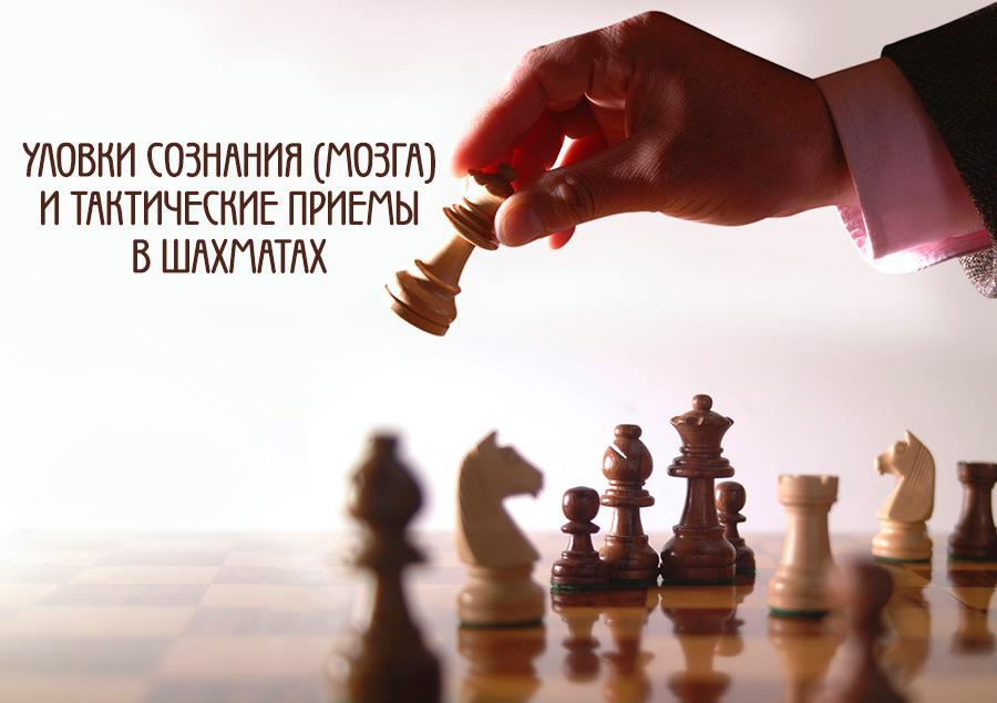 ae5fc5f4859 Уловки сознания (мозга) и тактические приемы в шахматах