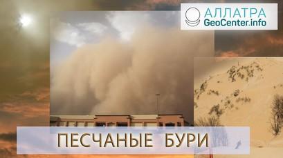 Песчаные бури.